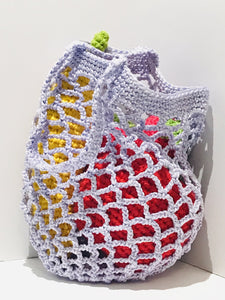 Crocheted Fruit Basket