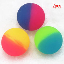 Load image into Gallery viewer, 2Pcs Double Color Luminous Bouncing Ball Glow