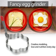 Load image into Gallery viewer, 304 Stainless Steel Omelette Egg Ring Love Heart