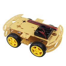 Load image into Gallery viewer, 4 Wheeled Robot  Car Chassis Kit Speed Encoder for