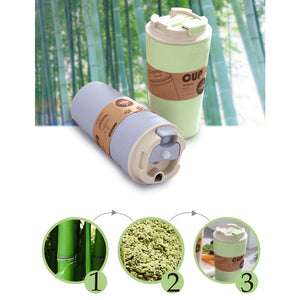 420ml Reusable Bamboo Coffee Cup