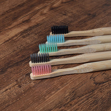 Load image into Gallery viewer, Bamboo Toothbrush Set