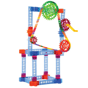 Brackitz Structures, Pulleys & Gears 1028 pc Set
