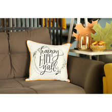 "Load image into Gallery viewer, Fall Season Thanksgiving Quote Square 18"" Throw Pillow Cover"