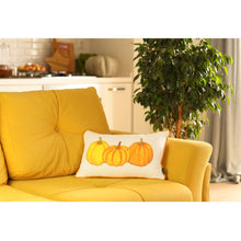 Load image into Gallery viewer, Fall Season Thanksgiving Pumpkins Lumbar Throw Pillow Cover