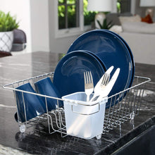 Load image into Gallery viewer, Dish Drainer with Cutlery Cup