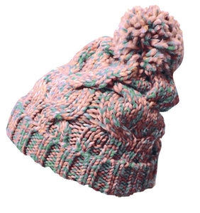 Peach Couture Knitted Cozy Warm Winter Boho Slouch Snowboarding Ski