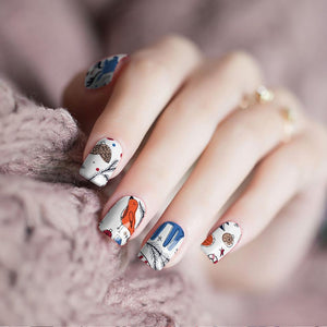 Pretty in Winter Nail Wraps