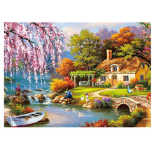 Load image into Gallery viewer, Adult Puzzle 1000 pieces 150 pieces Jigsaw Romantic Landscape Puzzle Creativity DIy Cartoon Puzzles charming Imagine Toy Gift
