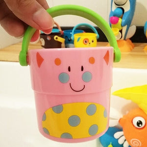 Bath Toys Pour Bucket Baby Water Spraying Tool