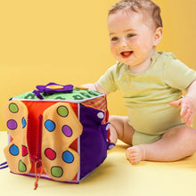 Load image into Gallery viewer, Blocks Cute Baby Game Cloth Fabric Birthday Gift