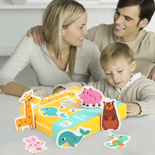 Load image into Gallery viewer, Card For Kids Matching Games Blocks Cute Cartoon