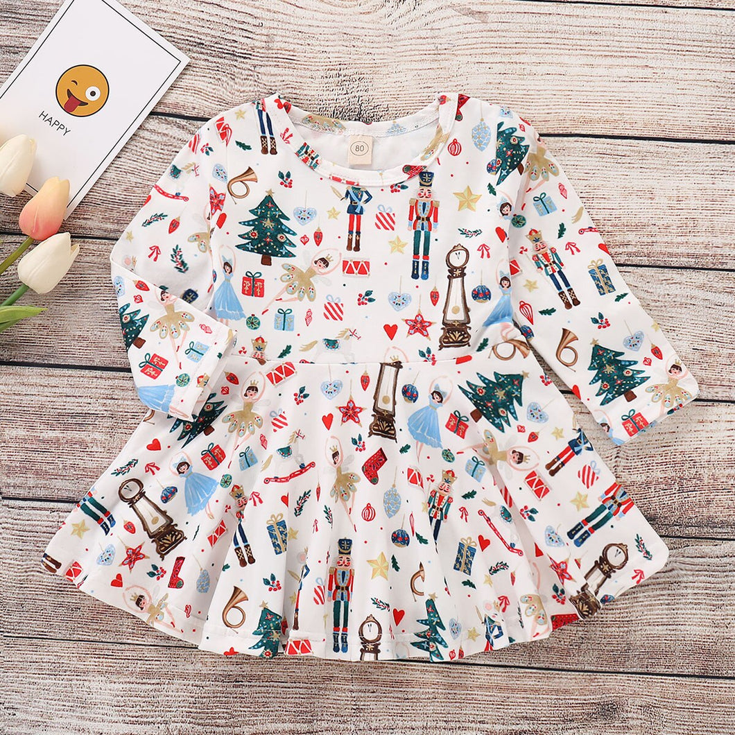 Christmas Toddler Kid Baby Girl Xmas Clothes Festival Party Fancy