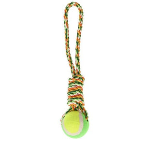 Color Weave Rope Ball Pet Dog Chewing Toy Doggy