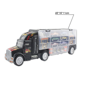 Container Automobile Alloy Truck Garage
