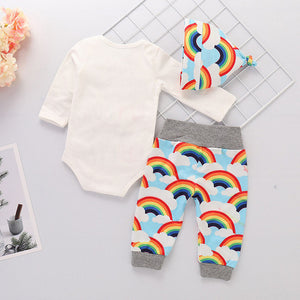 Costume For Newborns Infant Baby Girls Boys Letter