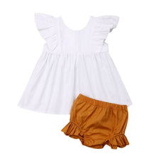 Load image into Gallery viewer, Cute Newborn Infant Baby Girl Summer Clothes set