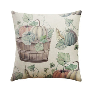 DIDIHOU 1 pc Pillowcase Happy Fall Thanksgiving