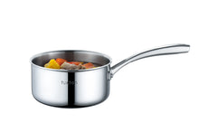 Load image into Gallery viewer, 316 Series - 2.4QT Surgical Stainless Steel Triply Saucepan with BONUS GIFT: Silicone Mitt