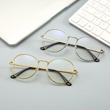 Load image into Gallery viewer, Fashion Blue Light Glasses Retro Metal Frame Anti