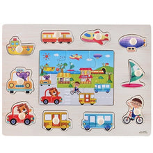 Load image into Gallery viewer, Hand Grab Board Letter Fun Cartoon Wooden