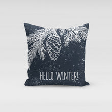 Load image into Gallery viewer, Hello Winter Pillow Cover