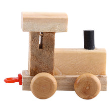 Load image into Gallery viewer, High Quality Wooden Train Figure Model Toy With