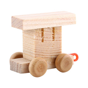 High Quality Wooden Train Figure Model Toy With