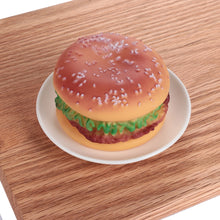 Load image into Gallery viewer, Hot Pet Puppy Chew Squeaker Rubber Sound Hamburger