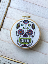 Load image into Gallery viewer, Sugar Skull Day of the Dead Skeleton Bright