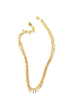 Load image into Gallery viewer, Crystal Drop Gold Chain Choker Necklace