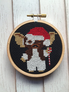 Gizmo Gremlin Film Movie Counted Cross Stitch DIY