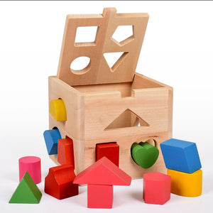 Intelligence Box Gift Kids Educational Toys Wooden