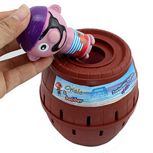 Kids Funny Gadget Pirate Barrel Game Toys for