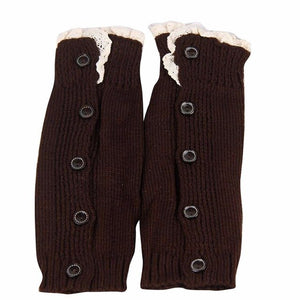 Kids Girl children leg warmers Crochet Knitted