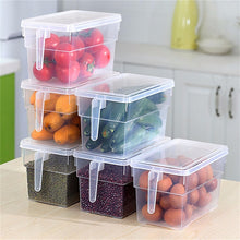 Load image into Gallery viewer, Kitchen Transparent PP Storage Box Grains Beans Storage Contain Sealed