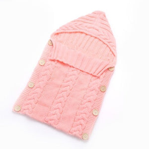 Newborn Baby Cute Knitted Crochet Hooded Sleeping