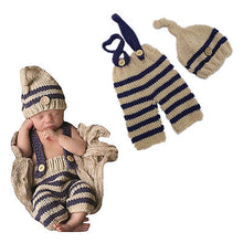 Load image into Gallery viewer, Newborn Photography Props Crochet Knitting Costume