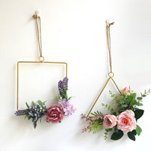 Load image into Gallery viewer, Gold Geometric Hanging Decorations