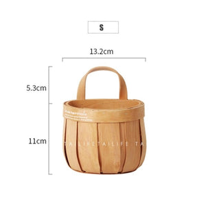 Wood Chip Storage Basket