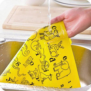Puzzle Kids Table Mat Silicone Non Slip Waterproof