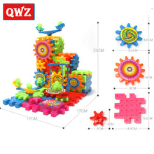 Load image into Gallery viewer, QWZ 81 Pieces Electric Gears 3D Puzzle Building