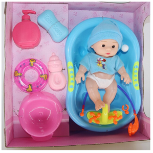 32cm Full vinyl Body Reborn Baby Doll Toy For Girl boys talking feeding Newborn bebe reborn Bathe Toys for children gift