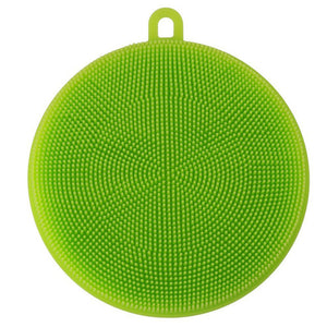 Silicone Dish Washing Sponge Scrubber Kitchen