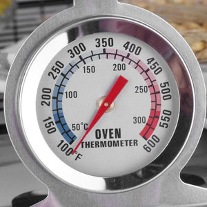 Stainless Steel Dial Oven Thermometer Cooking