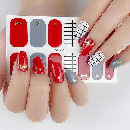 Shape of Me Gel Nail Wraps
