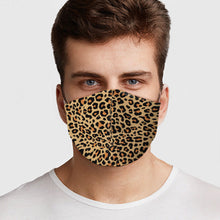 Load image into Gallery viewer, Cheetah Face Cover