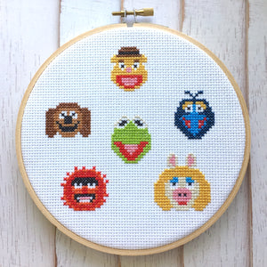 The Muppets Sampler Counted Cross Stitch DIY KIT
