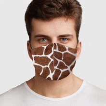 Load image into Gallery viewer, Giraffe Pattern Face Cover