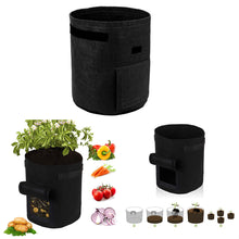 Load image into Gallery viewer, Portable Plant Bag Potato Planting Bag Durable Bag